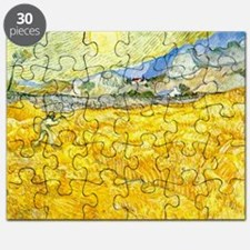 van gogh wheat Puzzle