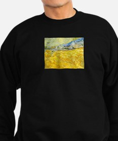 van gogh wheat Sweatshirt