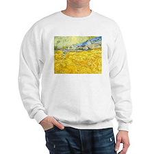 van gogh wheat Sweatshirt
