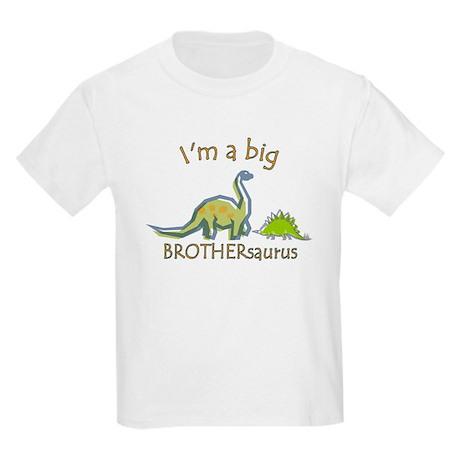 I'm a Big Brother Dinosaur Kids Light T-Shirt
