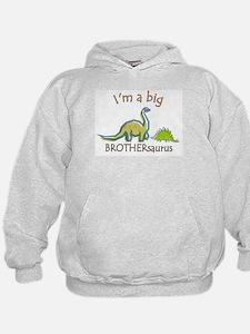 I'm a Big Brother Dinosaur Hoodie