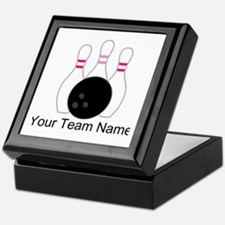 Bowling Team Personalized Keepsake Box