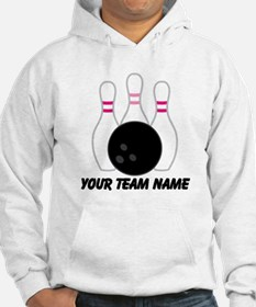 Bowling Team Personalized Hoodie