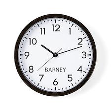 Barney Newsroom Wall Clock