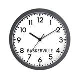 Baskerville Wall Clocks