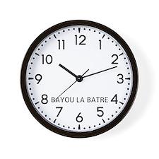 Bayou La Batre Newsroom Wall Clock