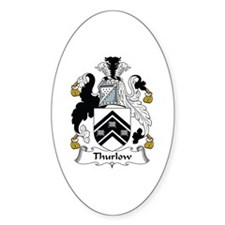 Thurlow Oval Decal