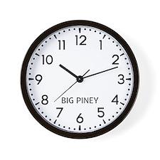 Big Piney Newsroom Wall Clock