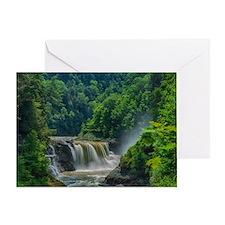 Lower Falls Letchworth Greeting Card