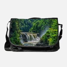 Lower Falls Letchworth Messenger Bag