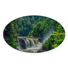 Lower Falls Letchworth Decal