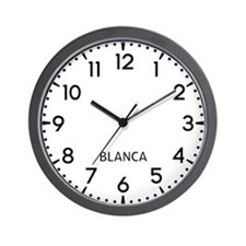 Blanca Newsroom Wall Clock