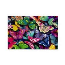 butterfly large Magnets