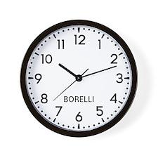 Borelli Newsroom Wall Clock