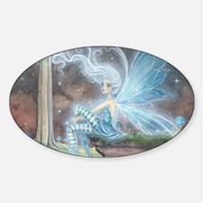 Blue Ember Fairy Fantasy Art Decal