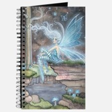 Blue Ember Fairy Fantasy Art Journal