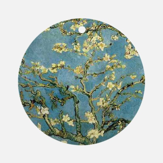 VanGogh Almond Blossoms Ornament (Round)