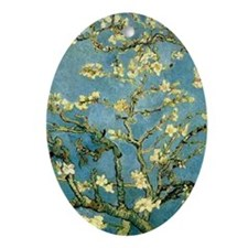 VanGogh Almond Blossoms Ornament (Oval)