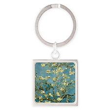 VanGogh Almond Blossoms Keychains