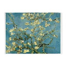 VanGogh Almond Blossoms 5'x7'Area Rug