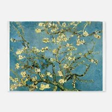 VanGogh Almond Blossoms 5'x7'Area Rug