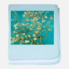 VanGogh Almond Blossoms baby blanket