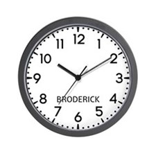 Broderick Newsroom Wall Clock
