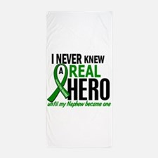 Cerebral Palsy Real Hero 2 Beach Towel