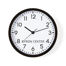 Byron Center Newsroom Wall Clock