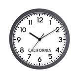 California Wall Clocks