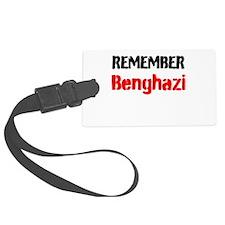 Remember Benghazi Luggage Tag