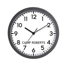 Camp Roberts Newsroom Wall Clock