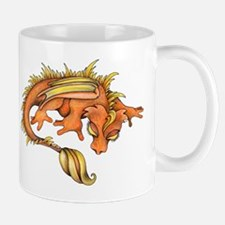 Orange Dragon Mugs