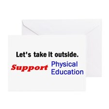 Let's take it outside. Greeting Cards (Package of