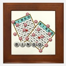 Bingo Cards Framed Tile