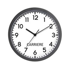 Carriere Newsroom Wall Clock