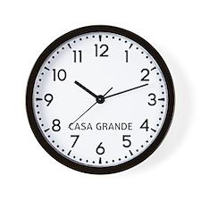 Casa Grande Newsroom Wall Clock