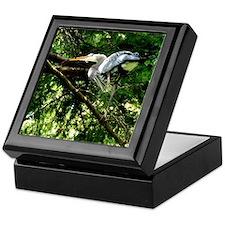 Heron Nesting Keepsake Box