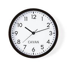 Cavan Newsroom Wall Clock