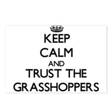 Keep calm and Trust the Grasshoppers Postcards (Pa