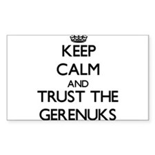 Keep calm and Trust the Gerenuks Decal