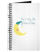 Now I Lay Me Down To Sleep Journal