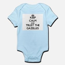 Keep calm and Trust the Gazelles Body Suit