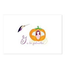 G is for god mother Postcards (Package of 8)