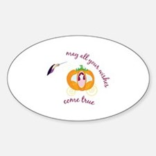 may all your wishes come true Decal