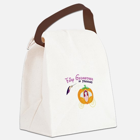 Fairy Godmother Canvas Lunch Bag