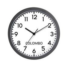 Colombo Newsroom Wall Clock