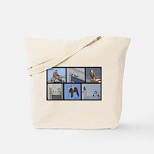 Fledglings Montage Tote Bag