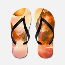The red planet Flip Flops