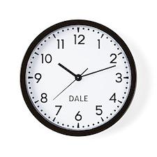 Dale Newsroom Wall Clock